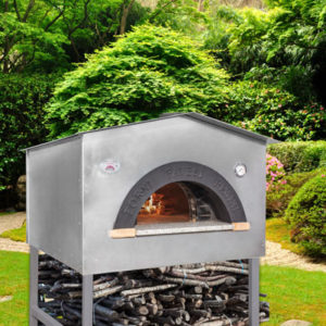 Forni Pavesi Rimini produces handcrafted professional ovens - mod Casetta 3-4 pizzas