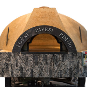 rotating wood-fired oven