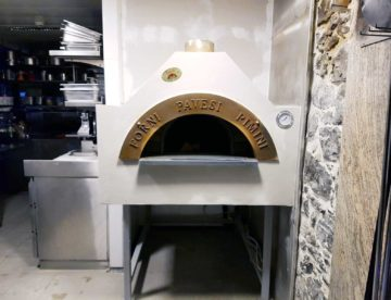 Forni Pavesi Rimini wood-fired oven made in Italy
