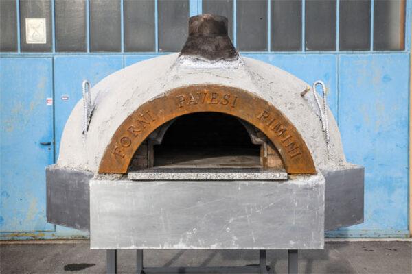 Forni Pavesi Rimini realizza forni su misura - mod cupola 6-8 pizze