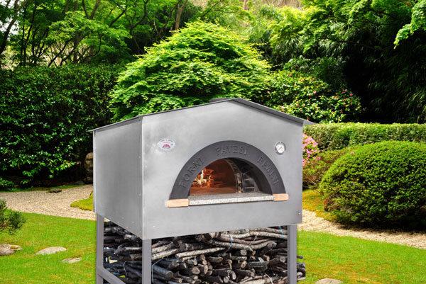 Forni Pavesi Rimini produce artigianalmente forni professionali - mod Casetta 3-4 pizze
