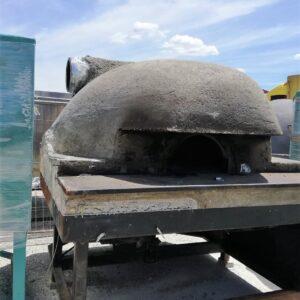 Forni pizza a legna e gas realizzati a mano in mattoni refrattari