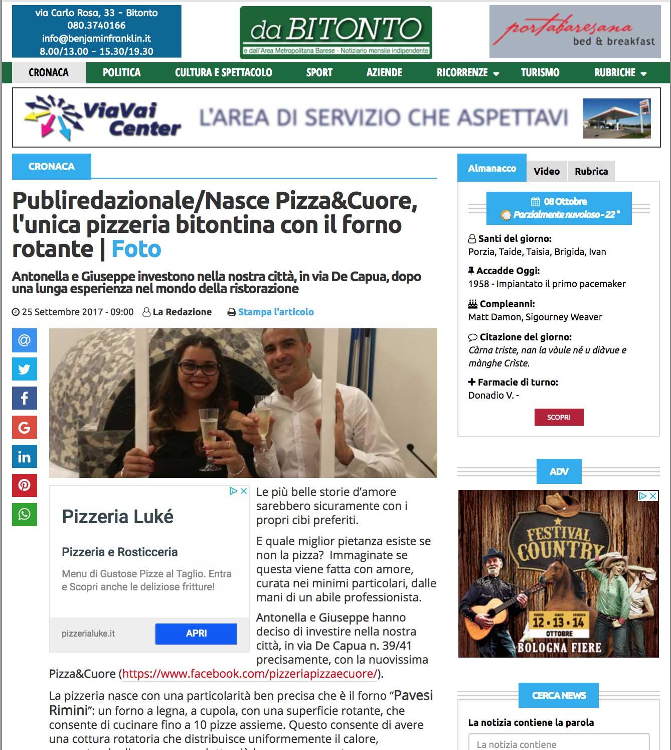 Forni Pavesi Rimini forno rotante