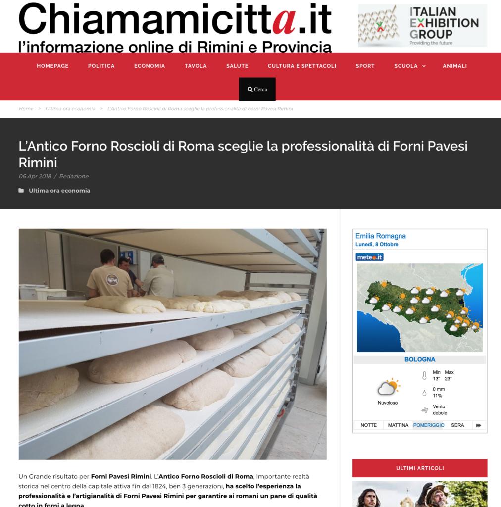 Forni Pavesi Rimini