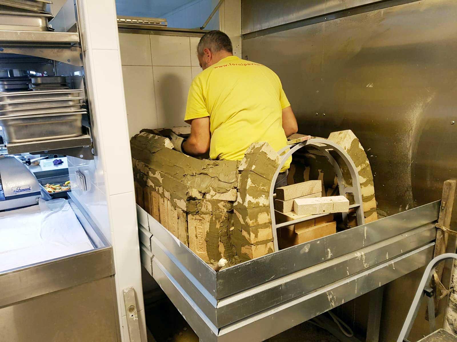 Forni Pavesi Rimini - Costruzione forni a legna professionali