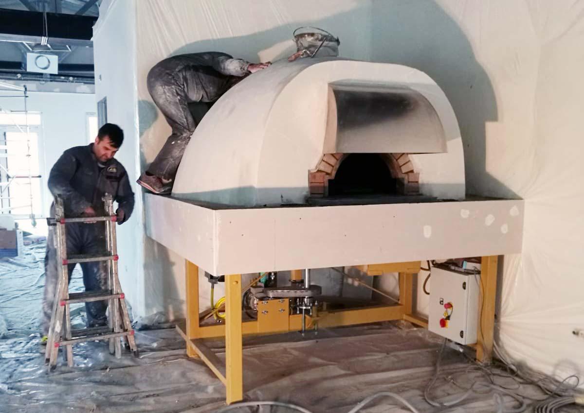 Forni Pavesi Rimini costruzione forno rotante Bologna