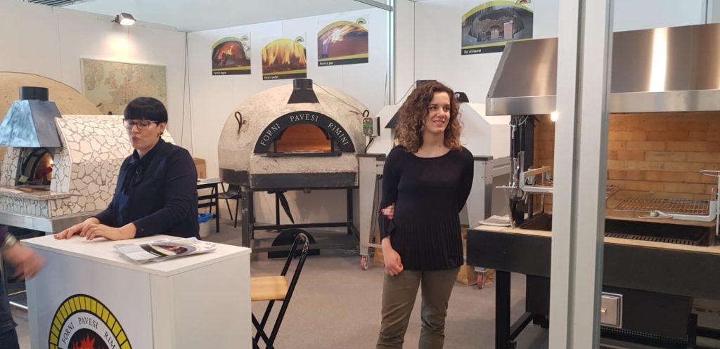 Forni Pavesi Rimini - esposizione forni al Sigep 2019 di Rimini